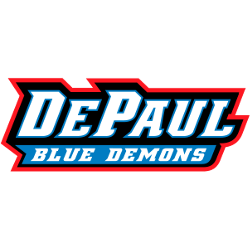 depaul-blue-demons-wordmark-logo-1999-present
