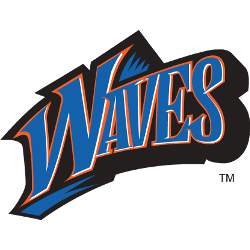Pepperdine Waves Wordmark Logo 1998 - 2003