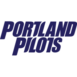 Portland Pilots Wordmark Logo 2006 - 2013