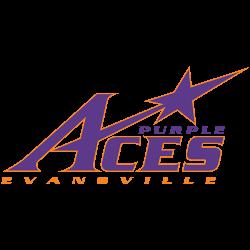 Evansville Purple Aces Primary Logo 2001 - Present