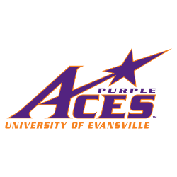 evansville-purple-aces-wordmark-logo-2001-present