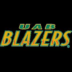 UAB Blazers Wordmark Logo 1996 - 2014