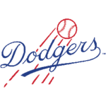 Brooklyn Dodgers Primary Logo 1945 - 1957