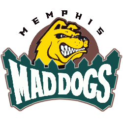 memphis-mad-dogs-alternate-logo-1995-2