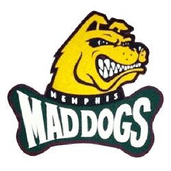 Memphis Mad Dogs Primary Logo
