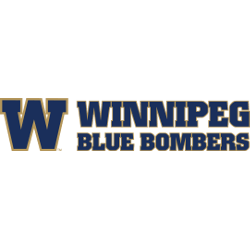 Winnipeg Blue Bombers Wordmark Logo 2012 - Present