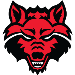 Arkansas State Red Wolves Primary Logo