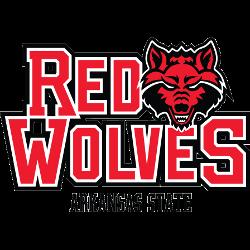 Arkansas State Red Wolves Alternate Logo 2008 - Present