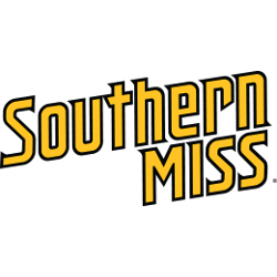 Southern Miss Golden Eagles Wordmark Logo 2003 - Present
