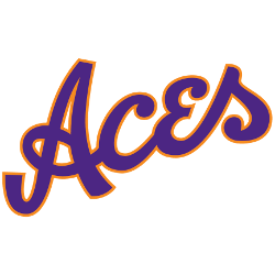 Evansville Purple Aces Alternate Logo 2019 - Present