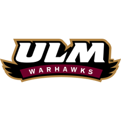Louisiana-Monroe Warhawks Wordmark Logo 2006 - 2013