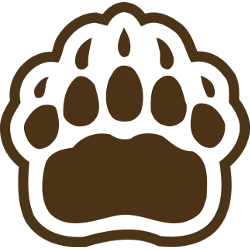 Brown Bears Secondary Logo 1997 - Present