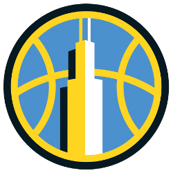 Chicago Sky Alternate Logo 2019 - Present