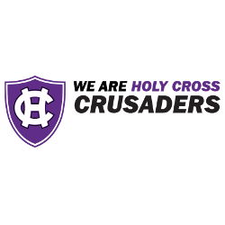 Holy Cross Crusaders Wordmark Logo 2014 - Present