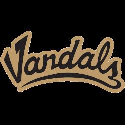 Idaho Vandals Wordmark Logo 2004 - Present