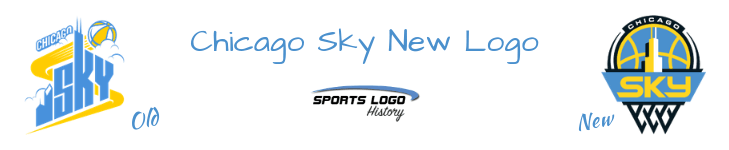 Chicago Sky - New Sports Logo