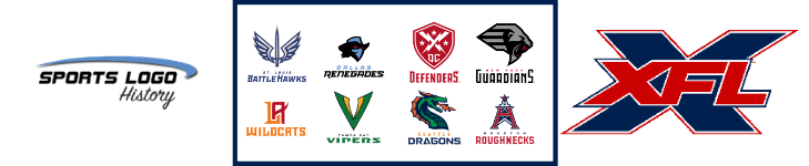 XFL 8 Logos - New Sports Logo