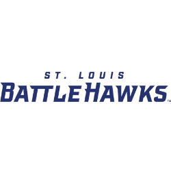 St. Louis Battlehawks Wordmark Logo 2020 - Present