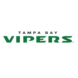 Tampa Bay Vipers Wordmark Logo 2020 - Present