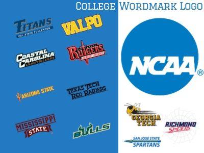 College Wordmark Logo Icon