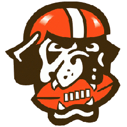 Cleveland Browns Alternate Logo 1999 - 2002