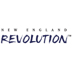 New England Revolution Wordmark Logo 1996 - Present