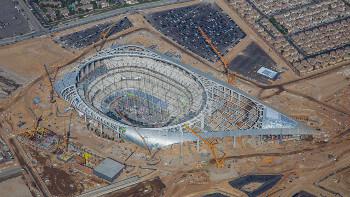 Sofi Stadium in Los Angeles