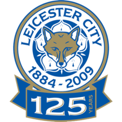 Leicester City FC Primary Logo 2009 - 2010