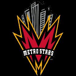 MetroStars Primary Logo 1998 - 2001