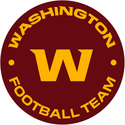 Washington Football Team Alternate Logo 2020 - Present