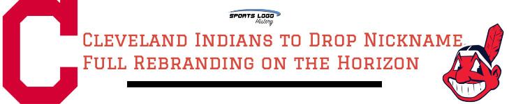 Indians Rebrand Banner