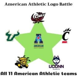 American Athletic Logo Battle Icon