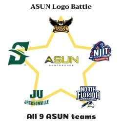 Atlantic Sun Logo Battle Icon
