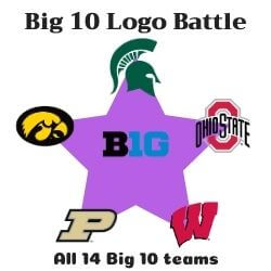 Big 10 Logo Battle Icon