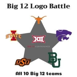 Big 12 Logo Battle Icon