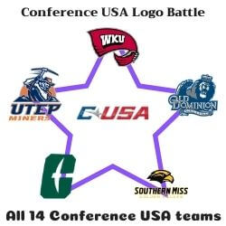 Conference USA Logo Battle Icon