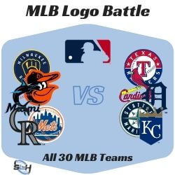 MLB Logo Battle