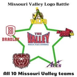 Missouri Valley Logo Battle Icon