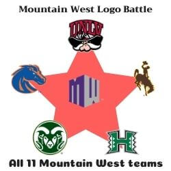Mountain West Logo Battle Icon