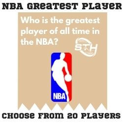 NBA Greatest Player