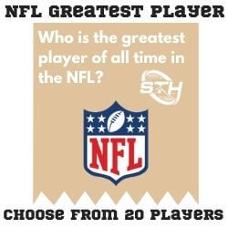 NFL Greatest Player