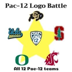 Pac-12 Logo Battle Icon