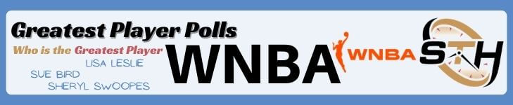 WNBA Greatest Player Poll