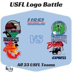 USFL Logo Battle Icon