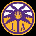 Los Angeles Sparks Alternate Logo 2021 - Present